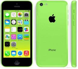 $enCountryForm.capitalKeyWord NZ - Original Unlocked Apple iPhone 5C IOS GPS WIFI Dual Core 4.0'' 8GB 16GB 32GB iphone5c Refurbished cellphone