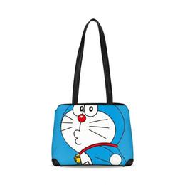 2018 Cute Doraemon Women Leather Handbags in Buckets Big High Quality  Casual Female Tote Shoulder Bag Ladies Brand Large Bolsos 46303cd20256b
