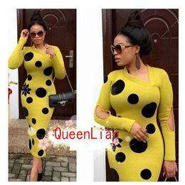 desing fashion 2018 - Free Shipping 2017 African Dashiki New Fashion Desing Baizn Super Party Famous Long Sleeve Long dress For lady cheap des
