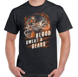 $enCountryForm.capitalKeyWord NZ - Blood Sweat And Gears Mens Funny Motocross T-Shirt Motorbike Motox Dirt Bike