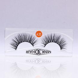 $enCountryForm.capitalKeyWord NZ - Hot sale 3D False Eyelash Extension Lash C Curl 18mm Ellipse Eyelash Extensions Individual Hand Made