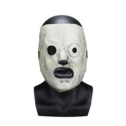 Celebrity Masquerade Ball UK - Corey Taylor Cosplay Mask Latex TV Slipknot Costume Props Adults Halloween Party Masquerade Ball Bar Masks
