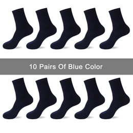 $enCountryForm.capitalKeyWord Australia - 10 Pairs  Lot Men Socks Brand Classical Crew Dress Cotton Socks Dress Business Casual Breathable Men 'S Socks Hot Sale