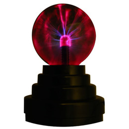$enCountryForm.capitalKeyWord UK - Plasma Ball Globe Usb and Battery Powered Home Decor Novelty Gifts 3 inch