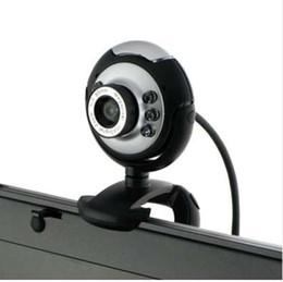 Discount web desktop - Hot 6 LED USB 2.0 webcam 12 Megapixel Web Cam Digital Video Webcamera with Mic Night Vision for Desktop PC