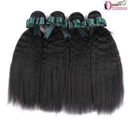 China Wholesale 8A Brazilian Human Hair 3 Bundles Yaki Curly Extension Unprocessed Brazilian Virgin Hair Bundles Kinky Straight Weaves Double Weft cheap curly yaki hair suppliers