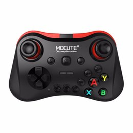 Discount tablet game stick - MOCUTE Wireless Bluetooth Gamepad Phone Tablet Video Games Controller Joy Stick for Android for iOS for PC VR Drop Shipp