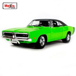 maisto models 2019 - Maisto 1:18 1969 DODGE Charger R T Lnvolving Muscle Old Car model Diecast Model Car Toy New In Box Free Shipping NEW ARR
