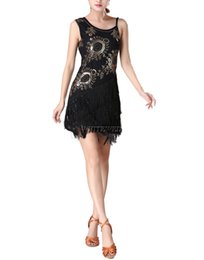$enCountryForm.capitalKeyWord Canada - Rumba Cha Cha Salsa Stage Latin Dance Routine Costumes Clothing Fringe Sequin Beaded Latin Dance 20s Flapper Gatsby Party Costume Dress