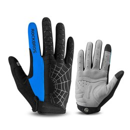 winter cycling clothing 2019 - Windproof Cycling Gloves Touch Screen Riding MTB Bike Bicycle Glove Thermal Warm Motorcycle Winter Autumn Men Clothing A