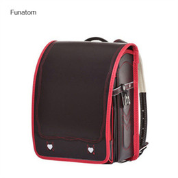 Children Orthopedic Backpack For Boy And Girl Five Star PU Leather School  Bags For Kids Book Bags Box Type Satchel 2018 166be7a363