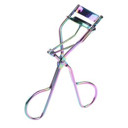 Discount curler clips - Wholesale New Hot Protable Colorful Eyelashes Curler Tweezer Curling Eye Lashes Clip Cosmetic Beauty Makeup Tool