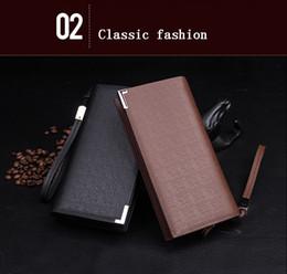 $enCountryForm.capitalKeyWord Canada - Men Wallets Top Quality Male Clutch Big Capacity Cellphone Bag Leather wallet men purse Zipper Pocket Men Purse Long