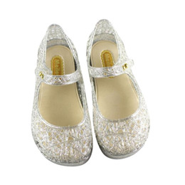 $enCountryForm.capitalKeyWord Australia - Cute Toddler Baby Kids Jelly Hollow Sandals Flat Shoes Princess Shoes Flip Flops flat heels soft S3APR6