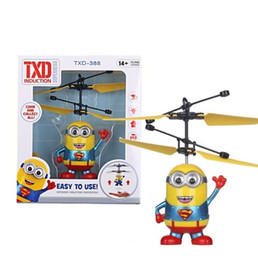 China Good Cheap Colorful Mini Drone Shinning LED RC Flying Ball Helicopter Sense Light Crystal Ball Induction Toys for Children Kids (5 Model) supplier cheap good toys suppliers