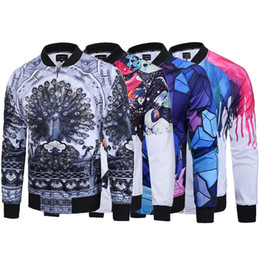 ea6d04d1fcd Graphic Jackets NZ - Fashion Design Printed Zipper Jacket For Men Autumn  Winter Casual Cardigan Coat Find Similar