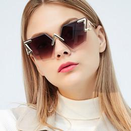 912aeb156a QPeClou Unique Diamond Cut Sunglasses Women New Brand Frameless Sun Glasses  Female 2018 Irregular Eyeglasses Shades Oculos UV400