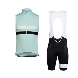 $enCountryForm.capitalKeyWord UK - RAPHA team Cycling Sleeveless jersey Vest bib shorts sets Breathable Quick Dry Polyester bike wear Outdoor sports clothes summer mens Y53078