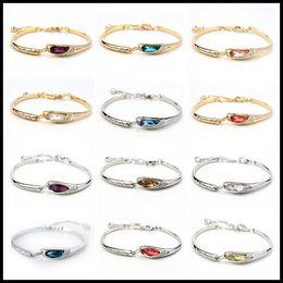 7d07d7ea3 Chain swarovski online shopping - New Colors Swarovski Amethyst Crystal  Bracelets Designer Bracelet Stainless Steel Jewelry