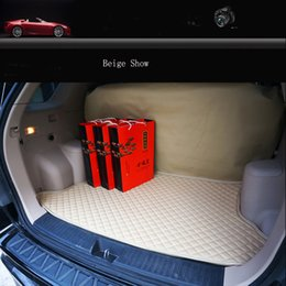 Trunk Liner Carpet Australia - Customize waterproof leather car trunk mat Cargo Liner Pad Auto Carpet