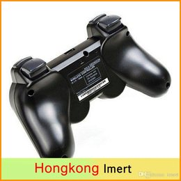 Playstation Sixaxis Wireless Controller Australia - SIXAXIS Controller & black bluetooth Wireless Gamepad for Sony Playstation 3 PS3 Controller Joystick