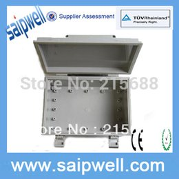 Discount electric enclosures - Saipwell IP66 ABS PLASTIC electric ENCLOSURE terminal type HINGE TYPE 250*170*100mm SP-WT-251710