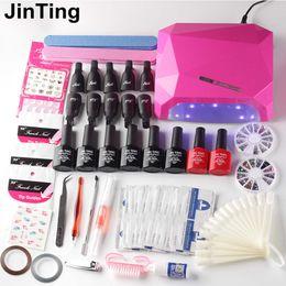set chiodo 24w o 36w lampada UV Asciugatrice con smalto per unghie smalto dai prodotti per manicure in Offerta