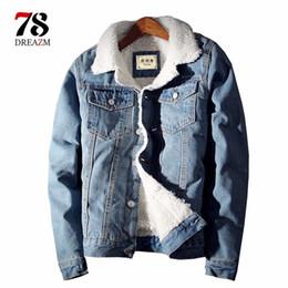 $enCountryForm.capitalKeyWord Australia - trench Men Jean Coat 2018 streetwear Trendy Warm Denim Jacket Winter Outwear Fashion Mens Male Cowboy Plus Size windbreaker D18100805