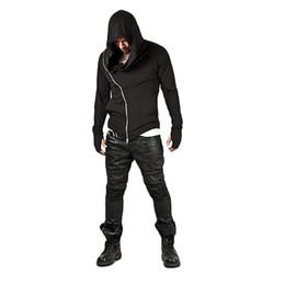 AssAssins creed zipper online shopping - Brand Design Men HoodiesCool Hop Streetwear Zipper Fashion Sweatshirt Men S Tracksuit Men Assassins Creed Hoodies Hot Sale