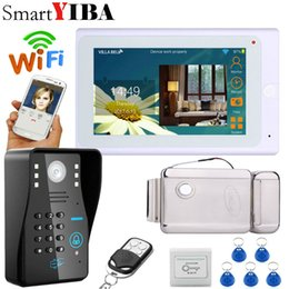 $enCountryForm.capitalKeyWord UK - SmartYIBA 7 inch wired Wireless wifi home Video Door phone wifi Monitor Video Door Bell Intercom doorphone System+Electric lock