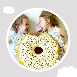 $enCountryForm.capitalKeyWord Canada - Kids Pillow Baby Bedding Children Room Decoration Donut Shape Sleeping Appease Toys Toddler Nursing Pillows almofadas infantil