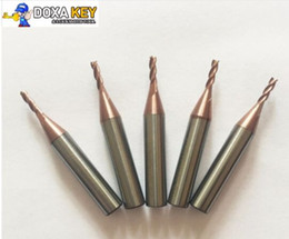 Chevy Wholesale Australia - Top Quality 5pcs lot 2.0mm carbide end milling cutter for MIRACLE A5 A7 A9  SEC-E9 key cutting duplicated machines