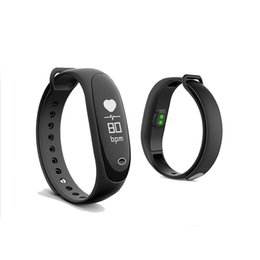 Discount bluetooth wrist alarm - E26 Waterproof Smart Wristband Bluetooth Heart Rate Blood Pressure Monitor Sports Fitness Bracelet Alarm clock Wristband