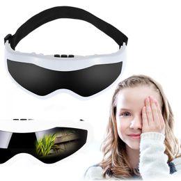 Masque pour les yeux Masseur Cerveau Massage Sinus Soins des Yeux Masseur Masque Migraine DC Électrique Soins de Santé Beauté Front Eye Massager en Solde