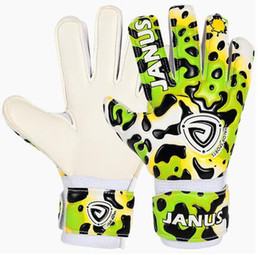 $enCountryForm.capitalKeyWord Canada - Professional Children Goalkeeper Gloves With Finger Protection Thickened Latex Leopard Print Soccer Goalie Gloves Football Accessories
