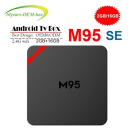 $enCountryForm.capitalKeyWord Australia - 2018 Cheapest M95 SE 4K Android 7.1 Tv Box Quad-Core 1GB 8GB H3 Chip Wifi Support 3D 4K Smart Media Player Set Top Box 2GB 16GB PK TX3 X96