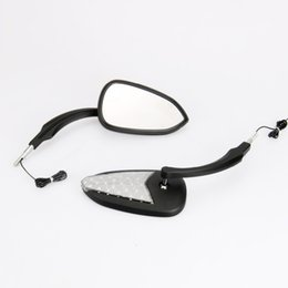 Flèche Led clignotants pour harley sportster 883 flèche miroirs honda suzuki kawasaki arrow miroirs led noir