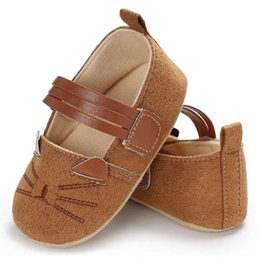 $enCountryForm.capitalKeyWord UK - Baby Infant Kids Girl Soft Sole Crib Toddler Newborn Shoes Flock Cloth new and high quality Great gift to baby hot sale 2018