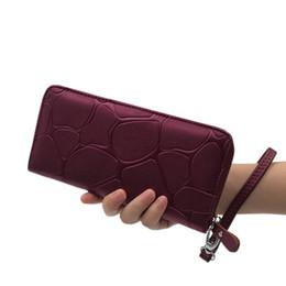 $enCountryForm.capitalKeyWord NZ - Hot cool 2019 Fashion Fashion Women Stone Road Wallet Coin Bag Purse Phone Bag
