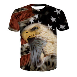 Funny Eagle Plus Size Tee Tops Men Fitness Casual Tees Mens 2018 Hip Hop  Streetwear Harajuku Animal Flag Printed 3D t shirts cc8747a79e36