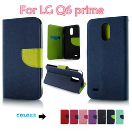 Chinese Zte Phones Canada - Wallet Case PU Leather phone cases TPU Defender Cover For LG Aristo 2 Metropcs LG Q6 prime For ZTE Avid 4 MetroPCS