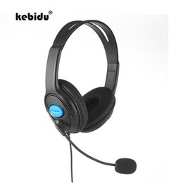 Discount headsets for playstation - kebidu Gaming Headphones Headset with Mic 1.9M Wired for PS4 Sony PlayStation 4 for PC Computer 3.5mm Game Headphone