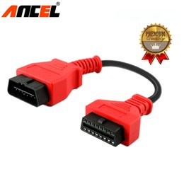 $enCountryForm.capitalKeyWord NZ - High Quality ANCEL Car OBD 2 OBD2 OBDII 16 Pin Extension Cable for IDIAG 5C V GOLO  PRO Easydiag Diagun Mdiag PAD ELM327 Vpecker