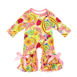 Chinese  New Autumn Baby Rompers 0-3T Girls Floral Printing Jumpsuit Long Sleeve Baby Warm Onesies 29+ Designs Milk Silk Baby Spring Fall Outfits manufacturers