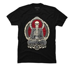 Cotton Cherry Australia - 2017 fashion hot sell Starving Buddha - Cherry Men's Graphic T Shirt 100% cotton O-Neck T Shirt Casual short print tops tee
