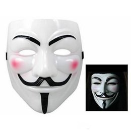 $enCountryForm.capitalKeyWord NZ - Wholesale V Mask Masquerade Masks For Vendetta Anonymous Valentine Ball Party Decoration Full Face Halloween Super Scary Party Mask