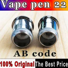 $enCountryForm.capitalKeyWord Canada - 200% Authentic AB code Vape Pen 22 0.3ohm Vape pen Mesh Strip coil head for Vape Pen 22 Starter kits