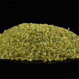Crystal Chips NZ - crushed stone 100 gram natural olivine gemstone rock mineral chips stone tumbled home decor crystal healing reiki
