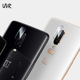 Chinese  2PCS Clear Camera Lens Screen Protector Protection Film For Oneplus 6 Back Camera Lens Tempered Glass Cover Oneplus6 One plus 6 manufacturers