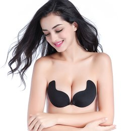e2527bd28a New Fly Bra Strapless Silicone Push Up Invisible Bra Self Adhesive Backless  Bralette Lift Bralette Plus Size Seamless Bras Sexy